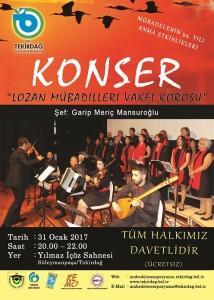 LOZAN KONSERİ AFİŞİ